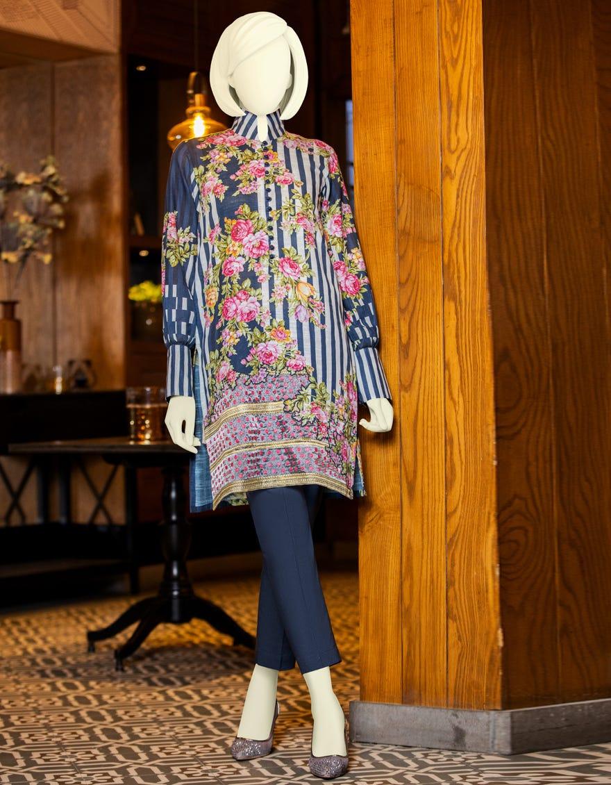 J. winter Blue color dress 2021