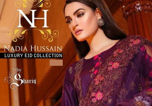 NAdia Husian Latest Eid Summer collection
