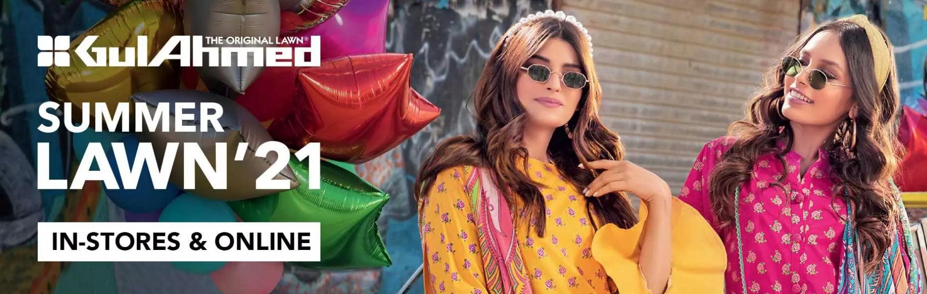 New Gul Ahmed Summer Eid-ul-fitr collection