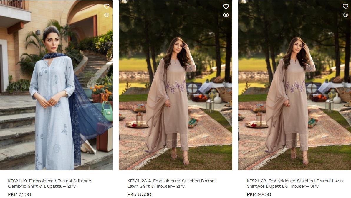 Nishat linen Luxury Summer collection 2021