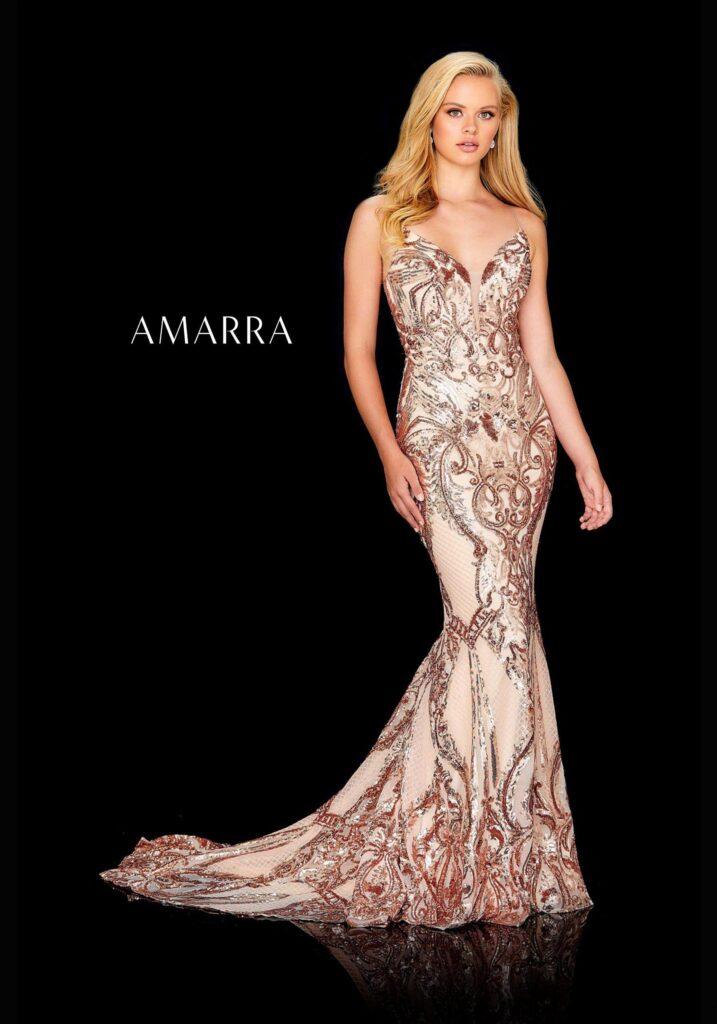 Amarra Prom Dress latest design