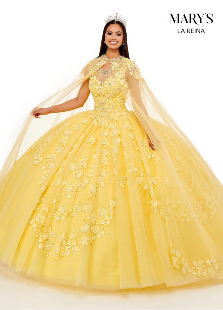 Lareina Quinceanera Dresses Yellow Color