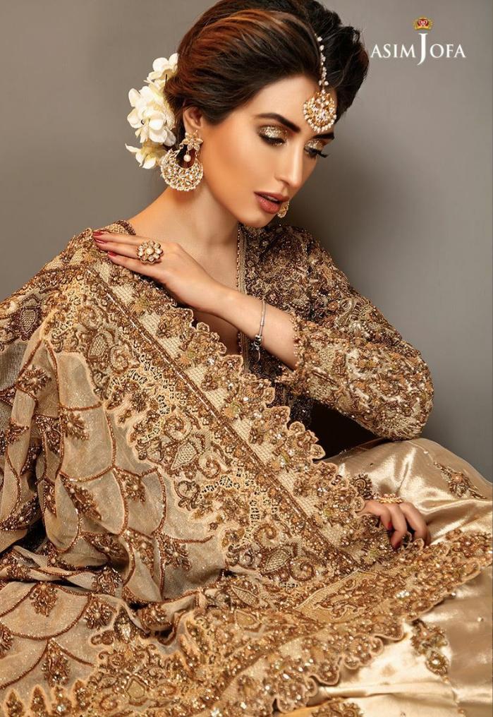 Asim jofa latest bridal collection