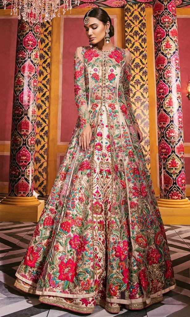 Bridal Dress collection From Nomi Ansari 2021