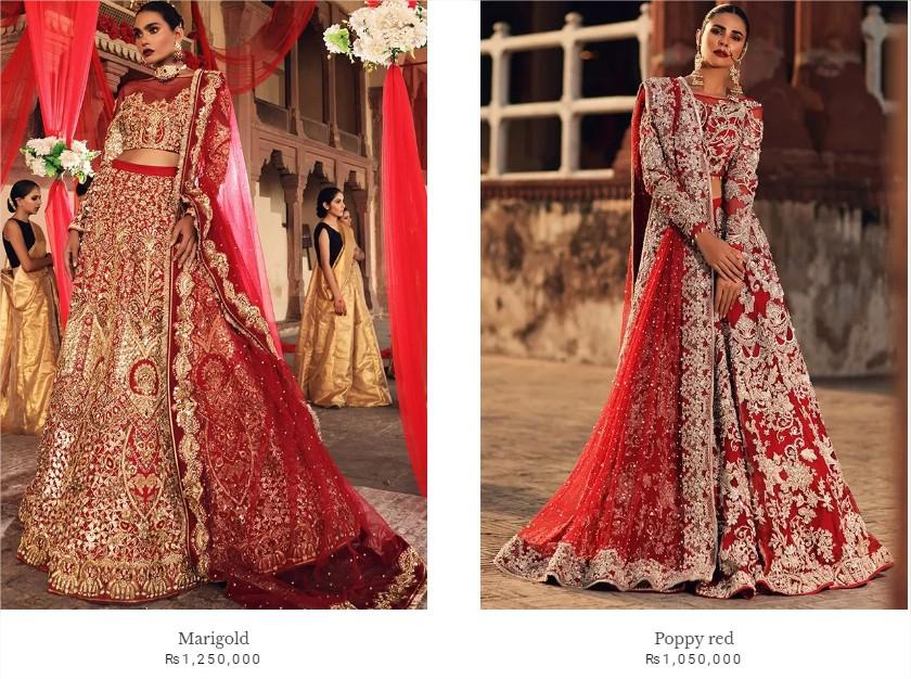 Erum Khan Latest Bridal Dresses Collection 2021