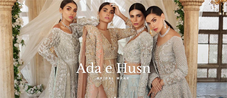 Latest Ada-E-Husn Bridal Dresses From Erum Khan 2021