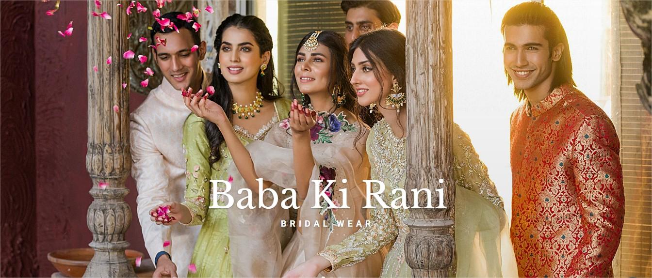 Latest Baba Ki Rani Bridal Dresses Collection From Erum Khan 2021