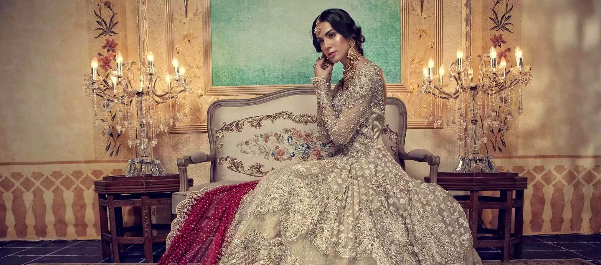 Maria B wedding dresses