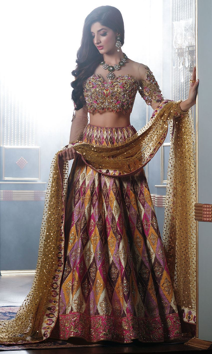 Nomi Ansari Bridal Dresses collection Mawara husain