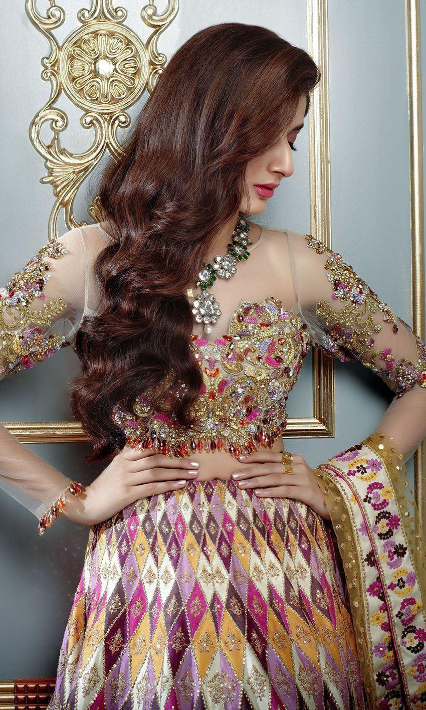 New Nomi Ansari Bridal Dress lengha Choli