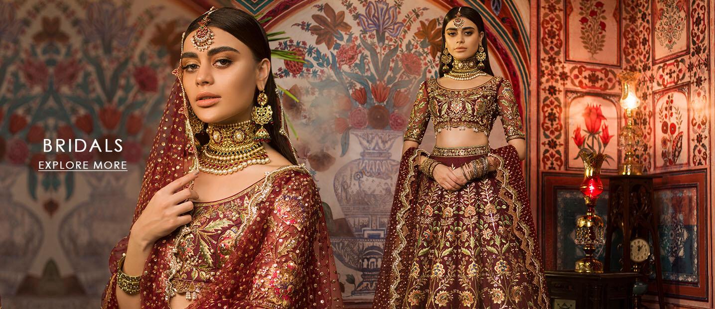 Nomi ansari Bridal Dresses 2021