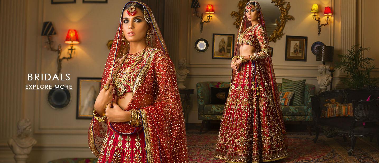 Nomi ansari Bridal Dress