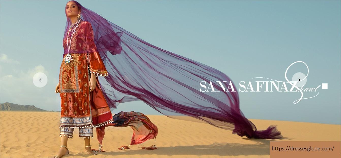 Latest Sana Safinaz Winter dresses collection 2021