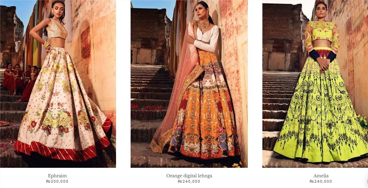 Erum Khan, Ada-e-husn Bridal Dresses Collections 2