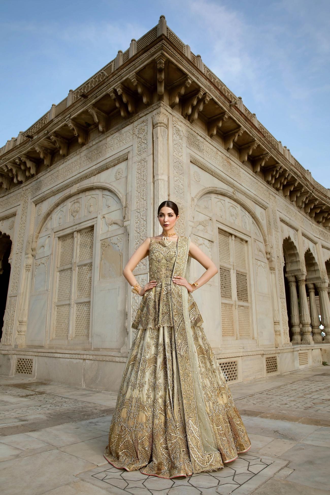 Garden Of Eden Bridal Dress From Erum Kahn