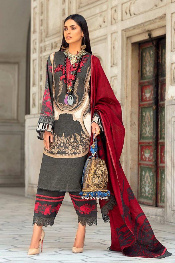 Sana safinaz Kurnool winter Printed color dress 2021