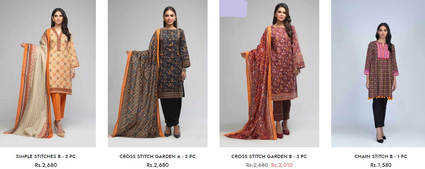 Bonanza Satrangi Winter Ready to wear Collection 2