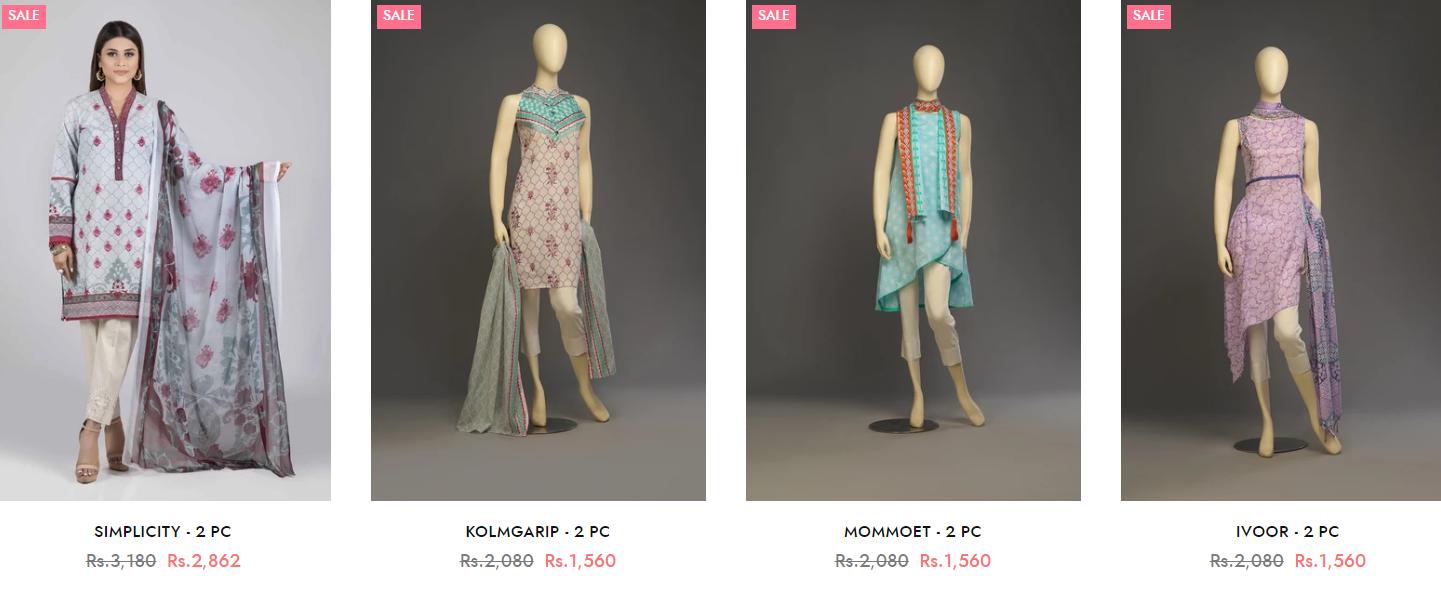 Bonanza Satrangi Winter two-piece Dresses Collection 2