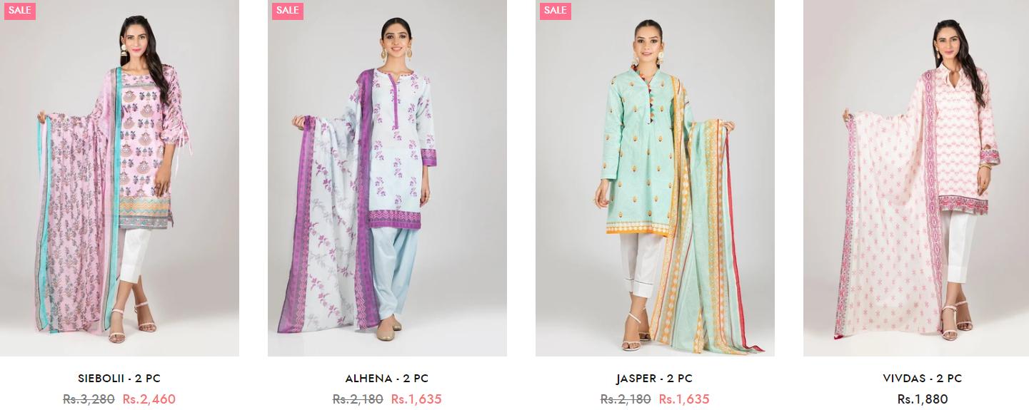 Bonanza Satrangi Winter two-piece Dresses Collection 3
