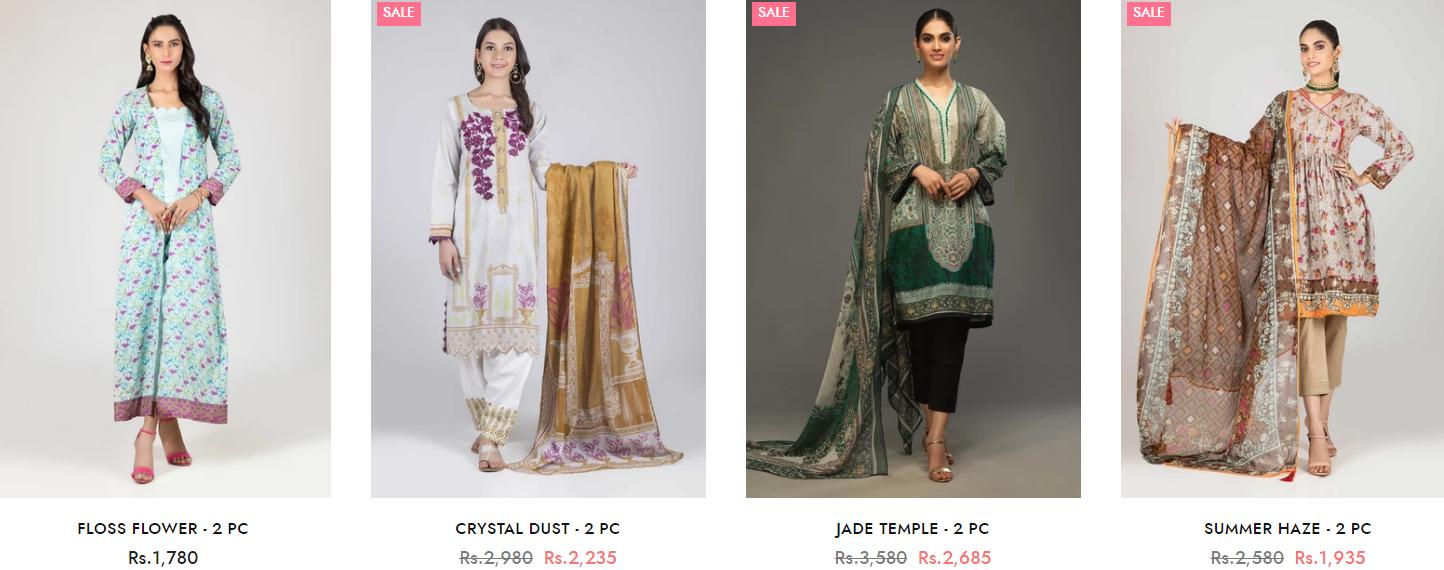 Bonanza Satrangi Winter two-piece Dresses Collection 4