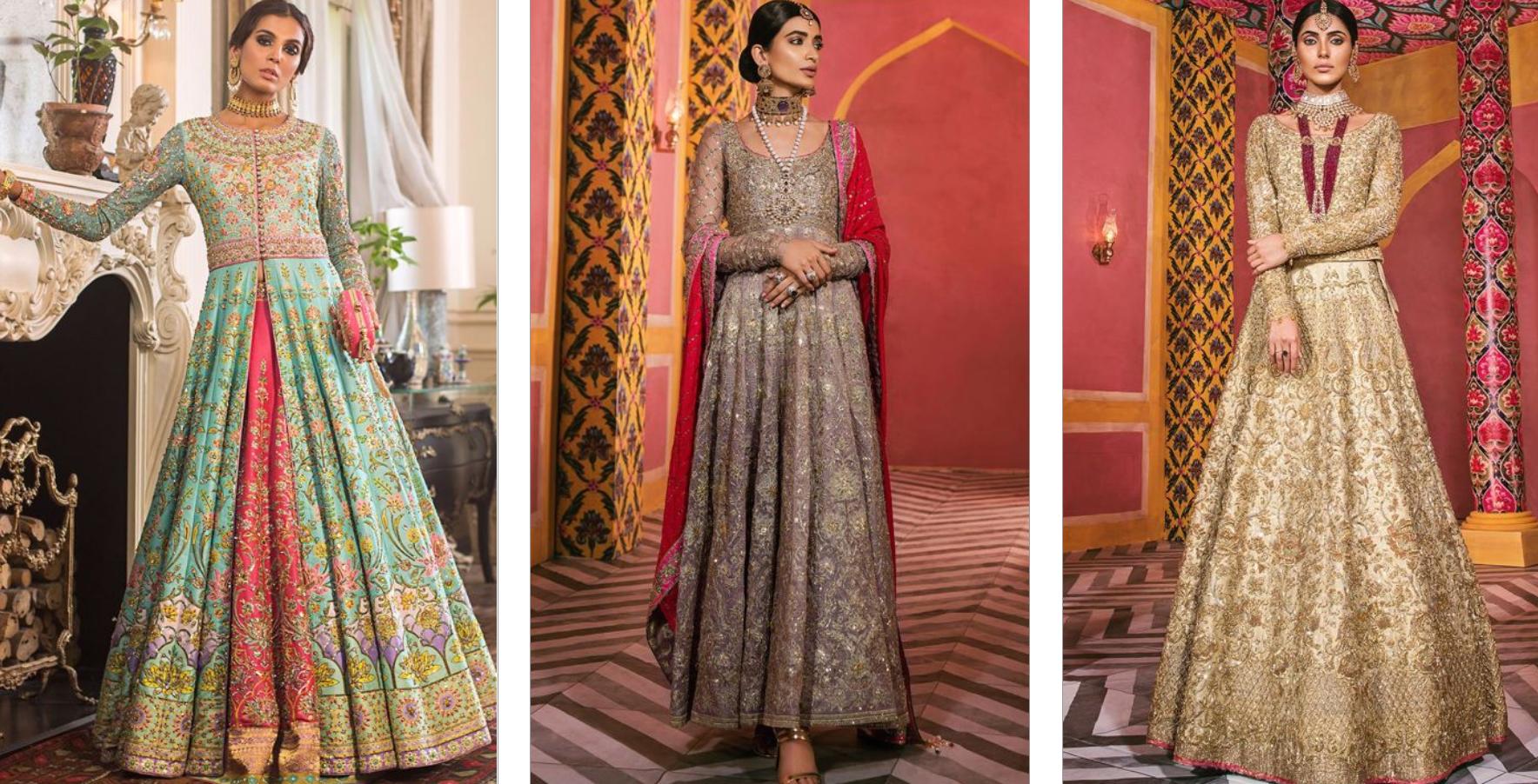 Nomi Ansari Bridal Dress Collection 2