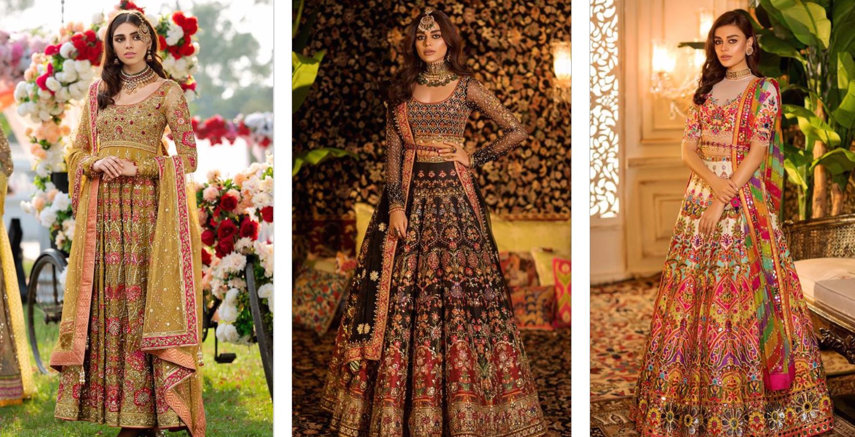 Nomi Ansari Bridal Dress Collection 1