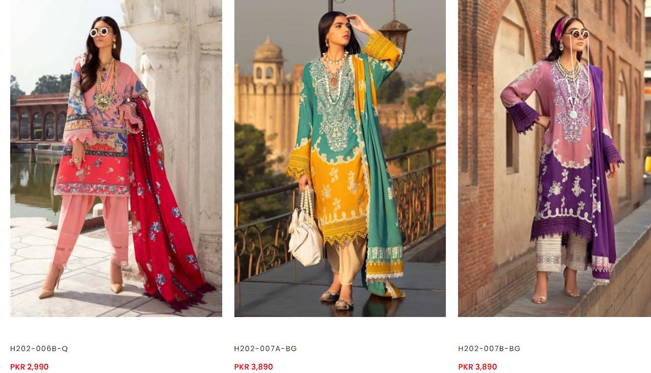 Sana Safinaz winter dresses collection iii