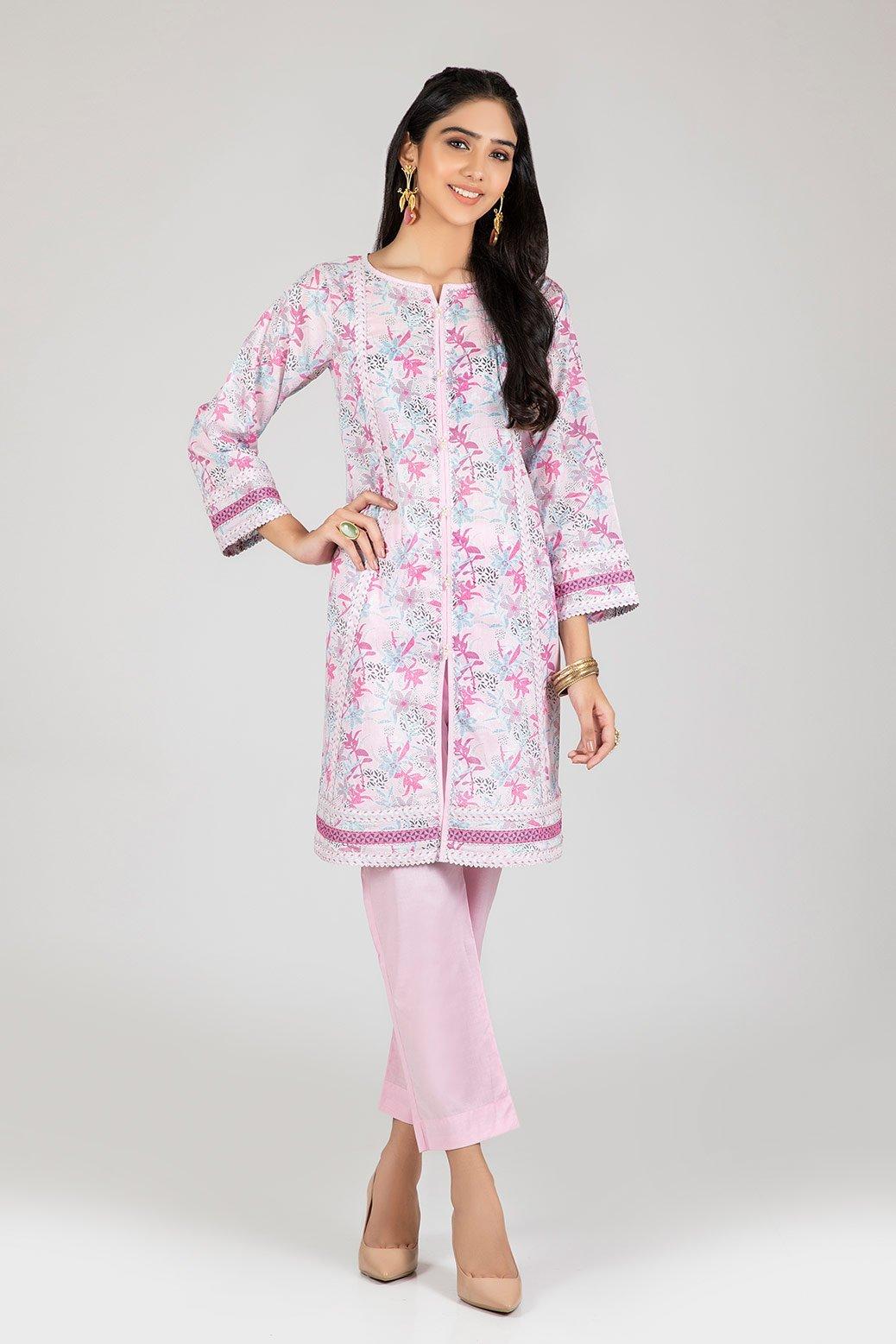 Bonanza Satrangi two piece dress Pink color