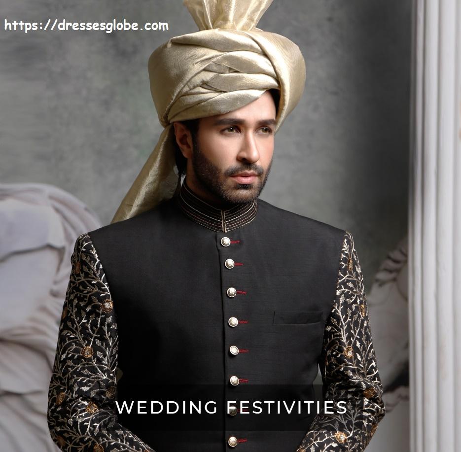 Latest Sherwani Designs From Amir Adnan