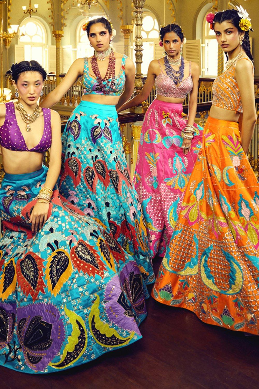 Aisha Rao Lehenga choli dresses designs