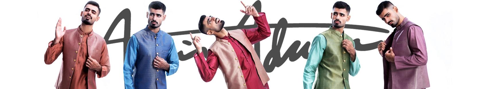 Amir Adnan WaistCoats dresses 2021