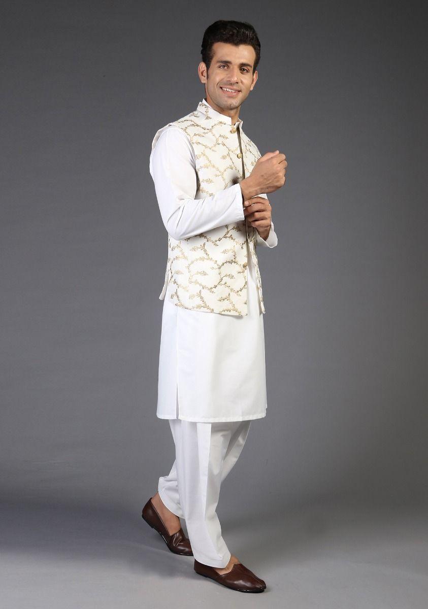 Amir Adnan Cream color waistcoat 2021