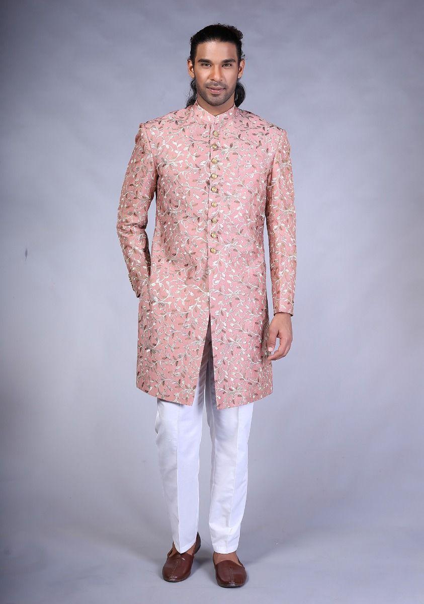Amir Adnan Rose Trd color sherwani 2021