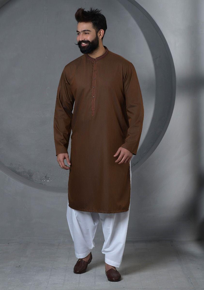 Amir Adnan Brown kurta 2021