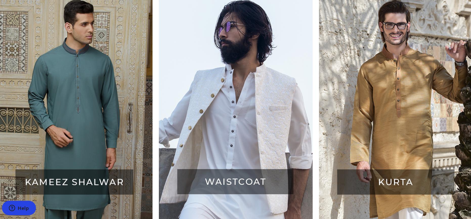Amir Adnan Men Dresses Collection 2021