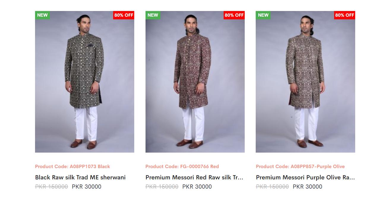 Amir Adnan Sherwani Collection 2