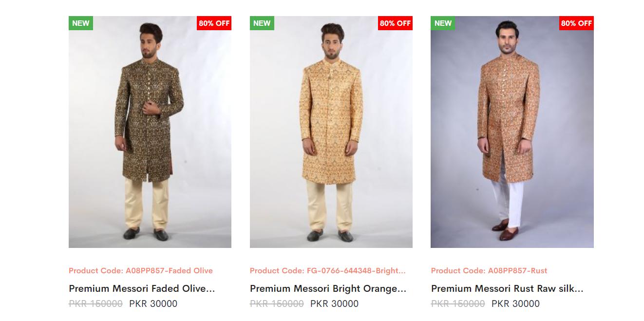 Amir Adnan Sherwani Collection 1