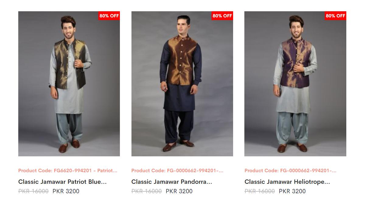 Amir Adnan Men WaistCoats Dresses collection 1