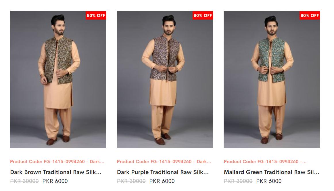 Amir Adnan Men WaistCoats Dresses collection 2
