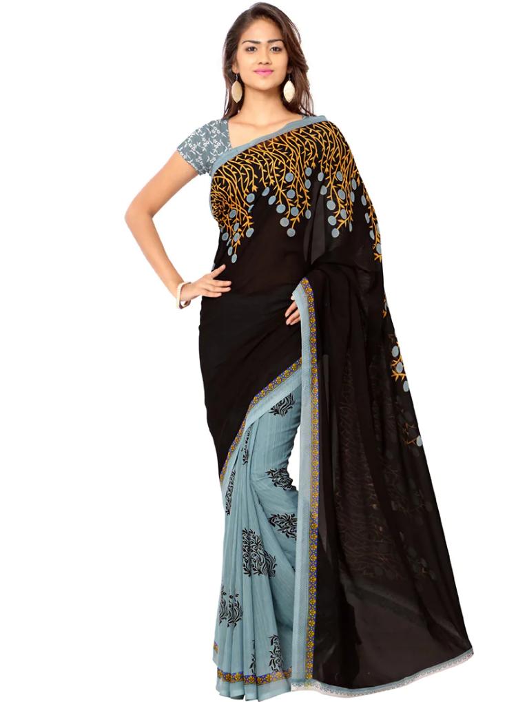 Printed Half saree