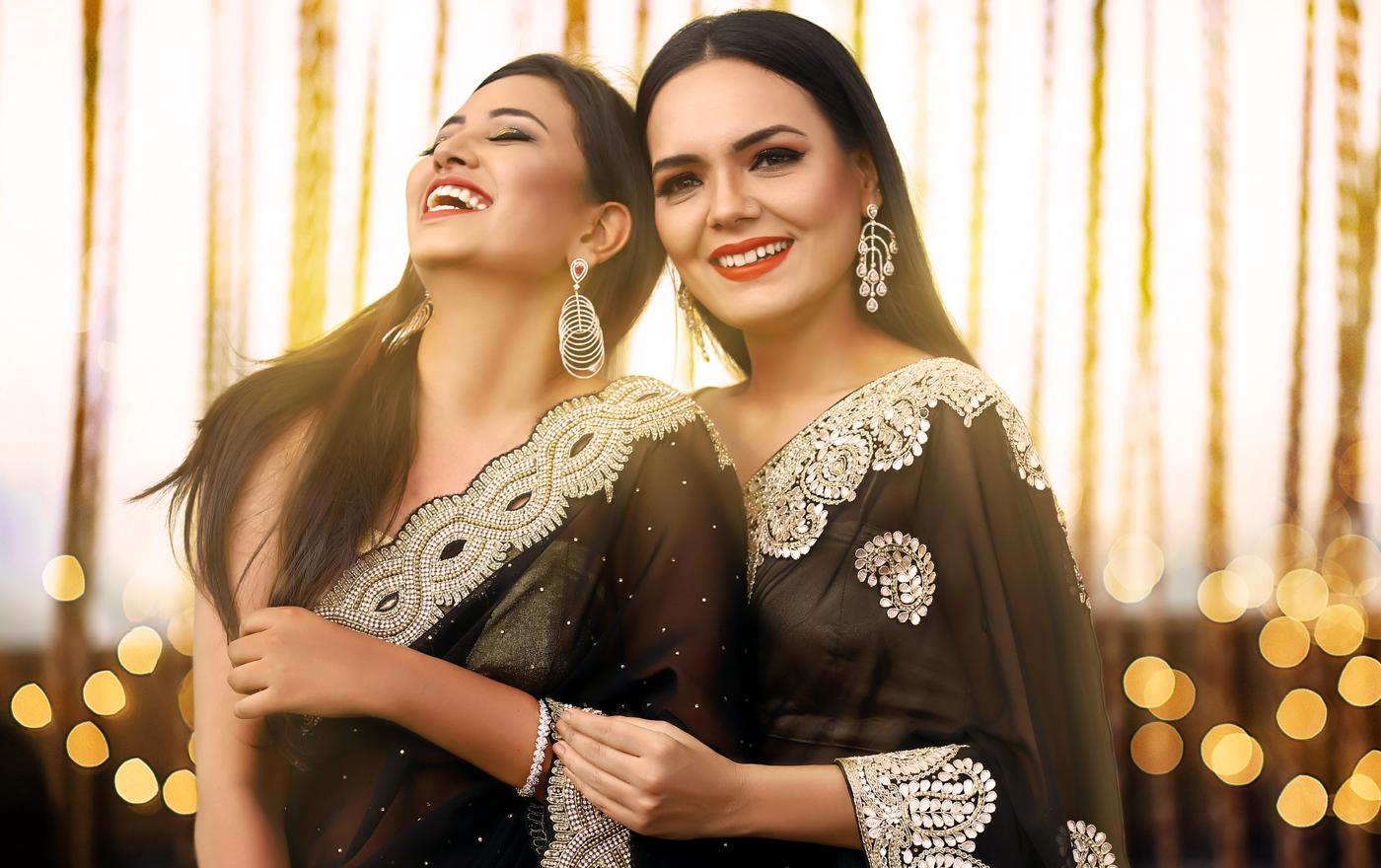 Indian Black Saree Collection 2021